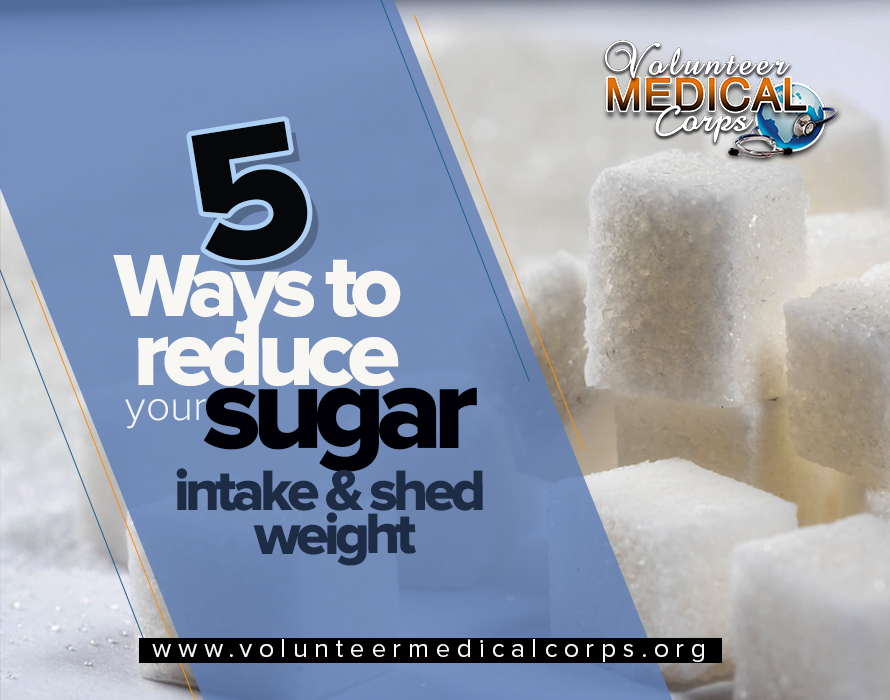 5 Ways to Reduce your Sugar Intake and Shed Weight
