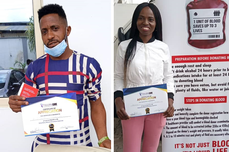 VMC CELVZ CHAPTER LAGOS PROVIDES SAFE BLOOD