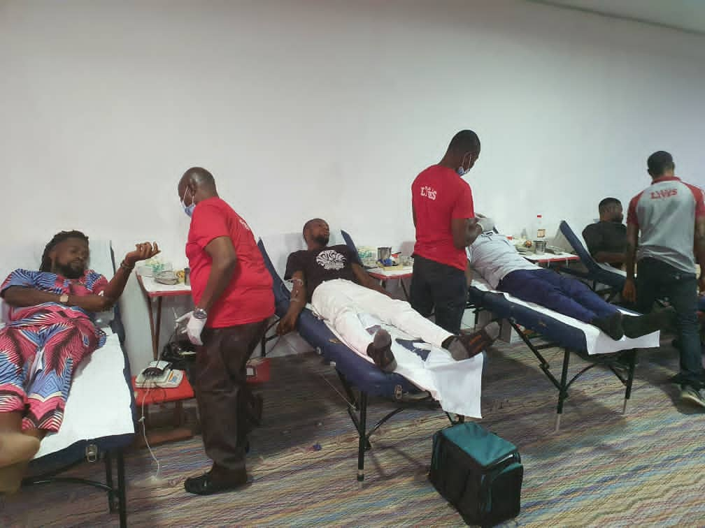 VMC volunteers commit to providing Safe Blood For All