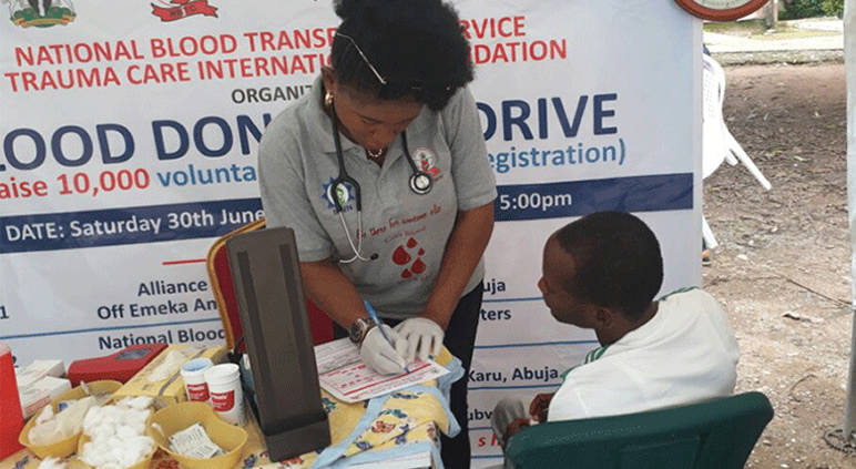 VMC marks 2018 #WorldBloodDonorDay  with TCIF
