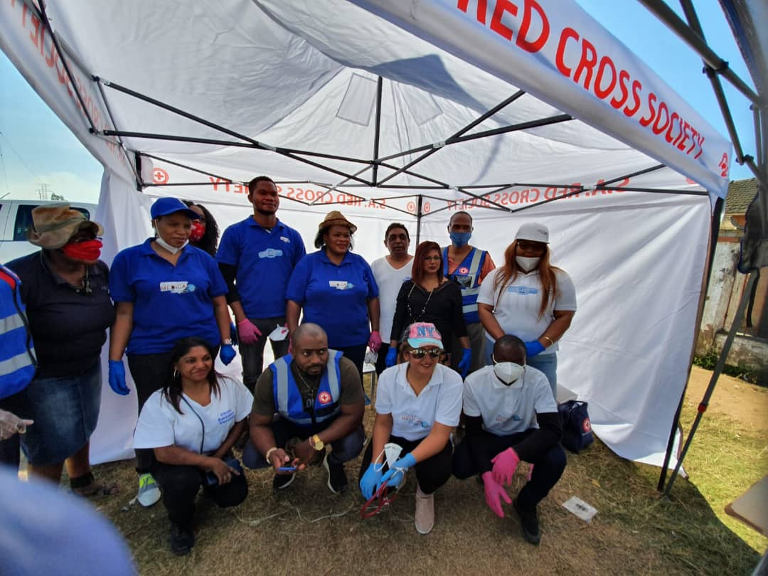 VMC Verulam Partners with Local Red Cross teams in South Africa