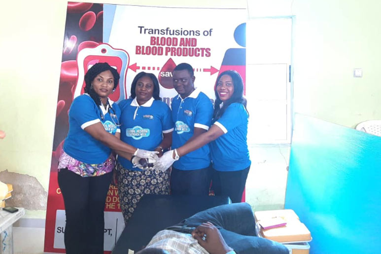 GLOBAL VOLUNTARY BLOOD DONATION CAMPAIGN