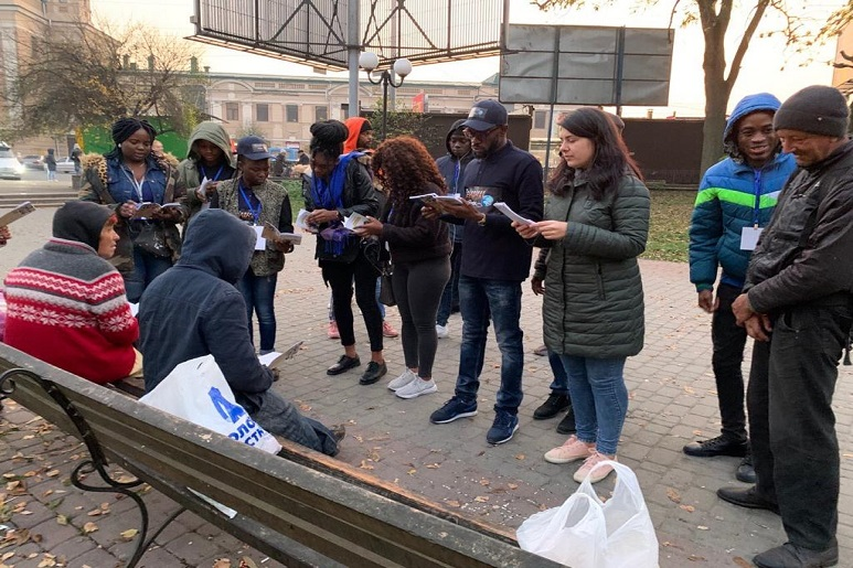 SPECIAL FOOD OUTREACH IN IVANO FRANKIVSK, UKRAINE