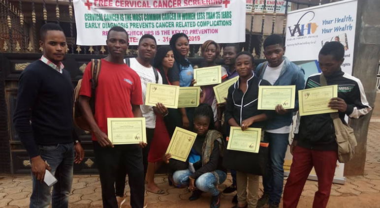Cervical Cancer Screening Training for Health Workers in Cameroon