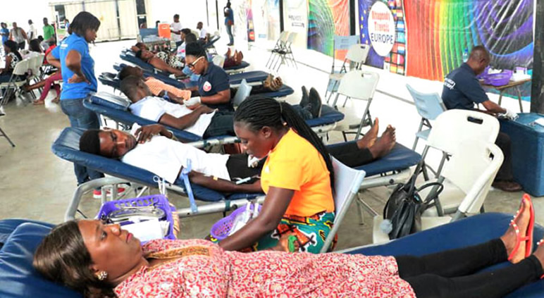 Voluntary Blood Donation Drive Organised by VMC Nungua Ghana