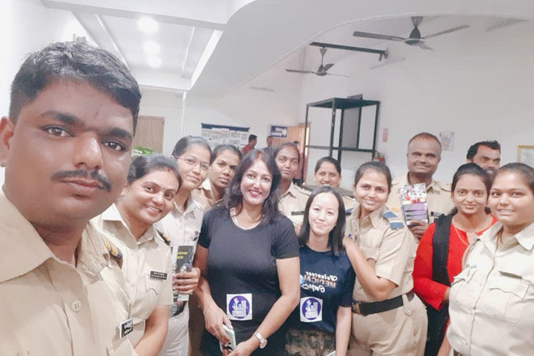 Day of Service activities in India