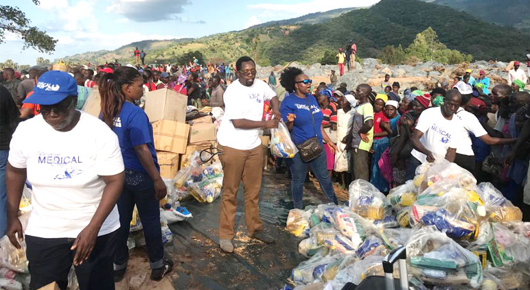 VMC Zimbabwe Supports Victims Of Cyclone Idai