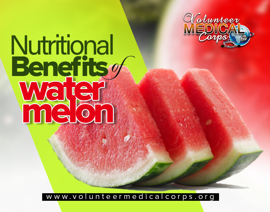 NUTRITIONAL BENEFIT OF WATERMELON
