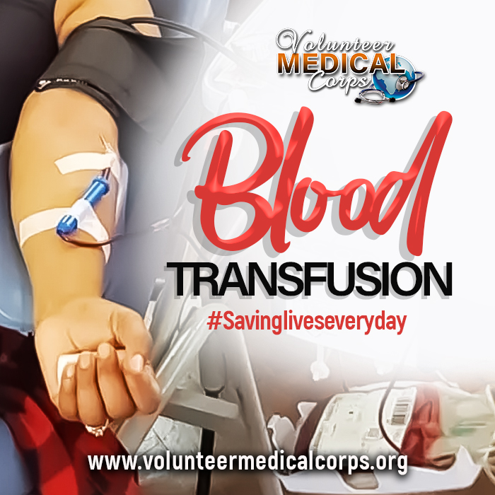 Importance of Blood Transfusion#Savingliveseveryday.