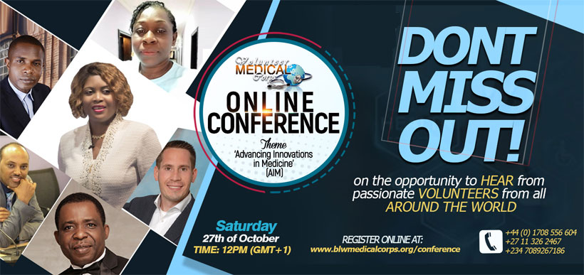 VOLUNTEER MEDICAL CORPS ONLINE CONFERENCE 2018