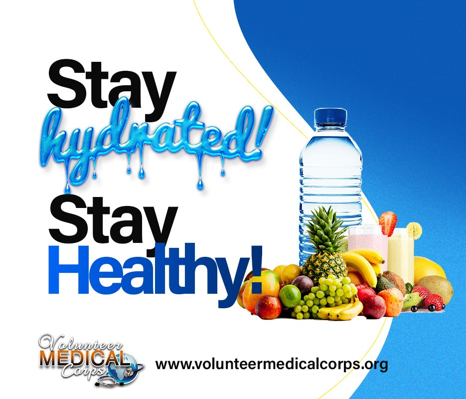 Stay Hydrated! Stay Healthy