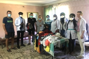 VISIT TO THE TUBERCULOSIS HOSPITAL UKRAINE