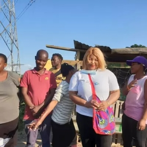 VMC Durban provides food items and personal care items for low income families