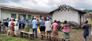 Reaching out to refugee Camps in Cameroon