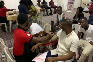 BLOOD DONATION LEKKI