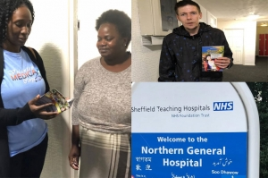 VISIT TO the Northern General Hospital in Sheffield